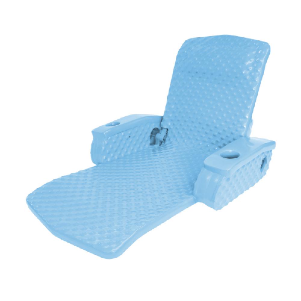 Texas Recreation Super Soft Adjustable Recliner- Marina Blue
