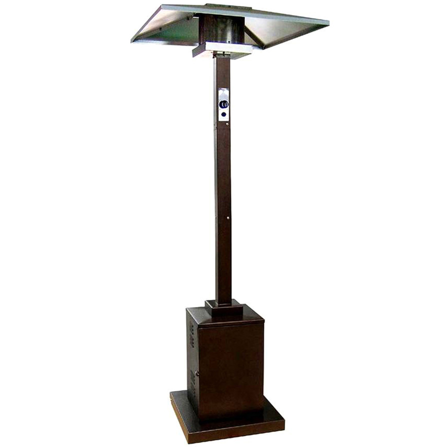 Az Patio Heaters Outdoor Commercial Square Patio Heater In Hammered Bronze