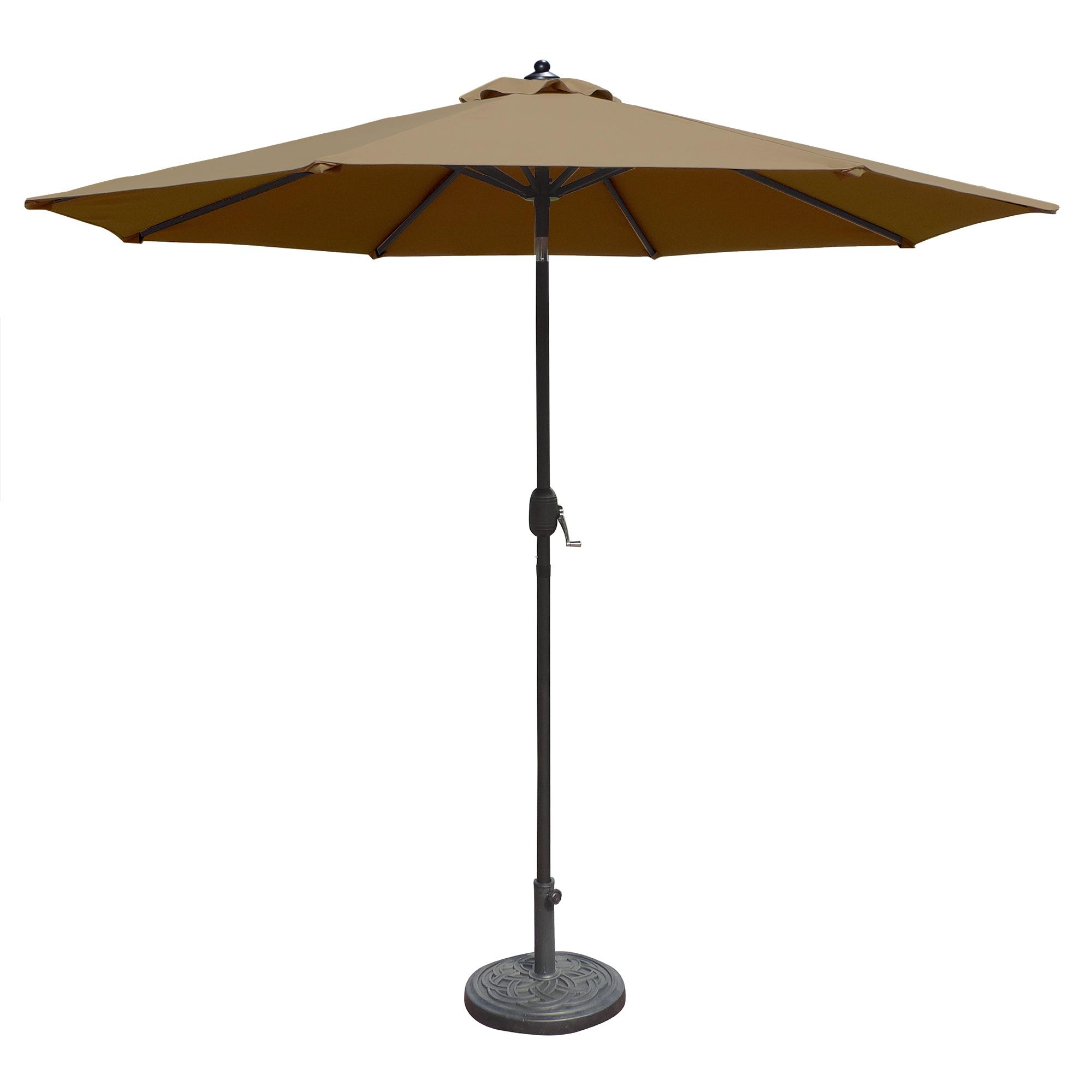 Island Umbrella Mirage 9-ft Octagonal Market Umbrella w ...