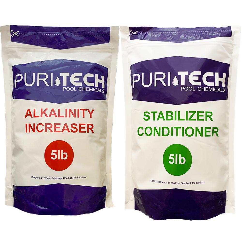 Puri Tech Chemicals 5 Lb Alkalinity Increaser Amp 5 Lb