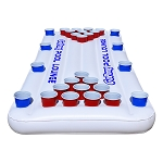 GoPong 6' Floating Pool Beer Pong Table