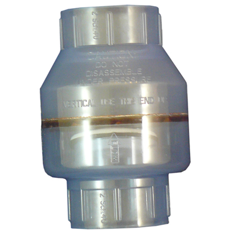 Swing Check Valve Pvc Clear 2 Slip X Slip