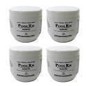 4 Pack PoolRx Booster Minerals/Algaecide 7500-20K Gallons