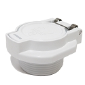 Vacuum Vac Safety Lock for Suction Side Pool Cleaners W400BWHP GW9530 White