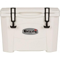 Grizzly 15 Rotomolded Cooler White
