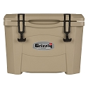 Grizzly 15 Rotomolded Cooler Tan