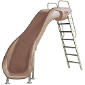 S.R. Smith 610-209-58210 Rogue2 Pool Slide, Left Curve, Taupe