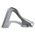 S.R. Smith 670-209-58224 Typhoon Left Curve Pool Slide, Gray Granite