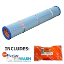 Pleatco Cartridge Filter PRB8.5 Pentair Rainbow Chloro Emerald Spas Viking Spas 17-0052 (Antimicrobial) w/ 1x Filter Wash