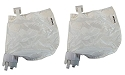 2) Polaris 91001021 360 380 Replacement Pool Cleaner Zippered Bags 9-100-1021