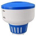 Blue Devil Deluxe Floating Pool Chlorinator with Full/Empty Indications - Holds 3 lbs of Tablets or Sticks