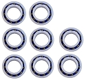 8) New Polaris C60 Ball bearings Replacement Wheel for Pool Cleaner 280/180 C-60