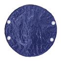 Bulldog by Puri Tech Winter Royal Blue Black Cover for 15ft Round Swimming Pools Made of High Quality Polyethylene
