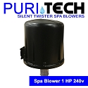Puri Tech Silent Twister Outdoor Spa Blower 1hp 240v