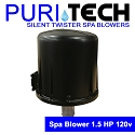 Puri Tech Silent Twister Outdoor Spa Blower 1.5hp 120v