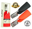 Flippin' Boss RED 3-in-1 BBQ Tool Spatula, Tong & Heat Resistant Glove
