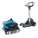 Dolphin Nautilus CC Plus Robotic Pool Cleaner with Universal Caddy for Pool