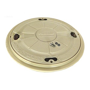 Pentair Admiral Lid With Ring Seat, S15 & S20, 9 In. Beige