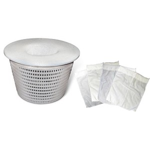 5 Pack Pool Filter Saver Skimmer Basket Sock Sleeve Mesh