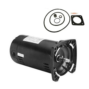 Sta-Rite Dura-Glas .75HP P2RA5D-180L Replacement Motor Kit AO Smith USQ1072 w / GO-KIT-6