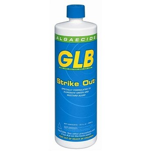 GLB Strike Out Swimming Pool Copper Algaecide
