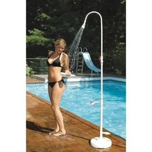 Hydro Tools Poolside Shower with Footwash