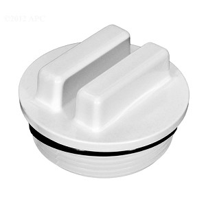 "Threaded 1.5"" NPT Filter Plug Winter Drain w/ O-Ring"