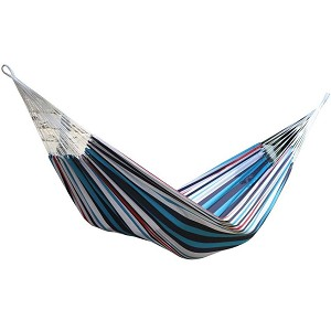 Vivere Single Brazilian Style Hammock Denim
