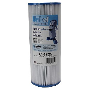 Unicel C-4325 Replacement Filter Cartridge for 25 Square Foot Hayward CX225re, American Commander II, In-line