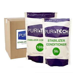Puri Tech 15 lb Stabilizer Conditioner (Cyanuric Acid)