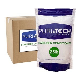 Puri Tech 25 lb Stabilizer Conditioner (Cyanuric Acid)