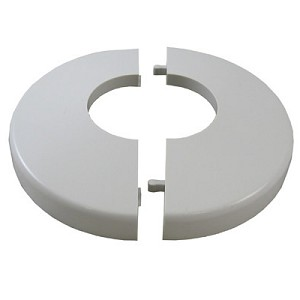 Escutcheon White Snap-On Snap Tite Hand Rail Base Trim Cover