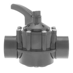 Hayward 2-Way CPVC Diverter Valve 1.5''-2''