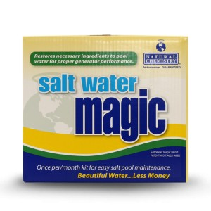 Natural Chemistry Salt Water Magic Monthly Kit 1L