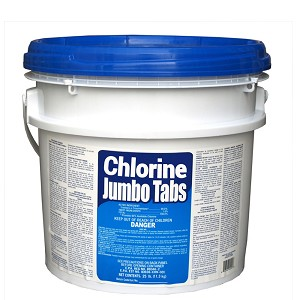 "3"" Stabilized Chlorine Tablets 25lb (Wrapped)"