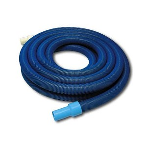 Puri Tech In-ground Swimming Pool Vacuum Hose 1.5 x 30' w/ Swivel Cuff