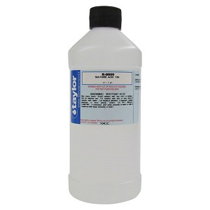Taylor Technologies R-0009 Sulfuric Acid Reagent 16 oz
