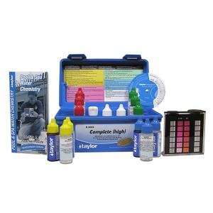 Taylor Technologies K-2005 Complete DPD Pool & Spa Kit High Range