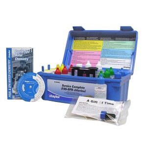 Taylor Technologies K-2006C Service Chlorine Complete FAS-DPD Pool & Spa Kit High Range