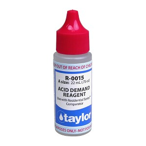 Taylor Technologies Acid Demand Reagent - .75 oz, Dropper Bottle