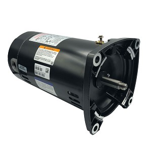 A.O. Smith Replacement Square Flange Motor .75HP Up-Rated Single-Speed