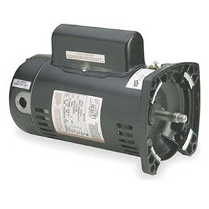 A.O. Smith Replacement Square Flange Motor 2HP Up-Rated Single-Speed